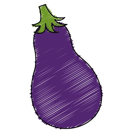 Fresh beet isolated icon vector illustration design