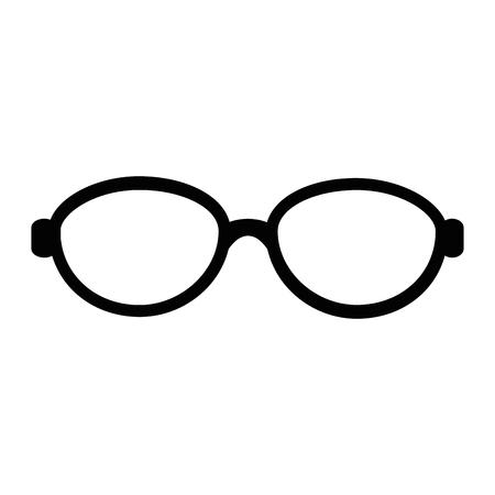 眼鏡アクセサリーのアイコン。