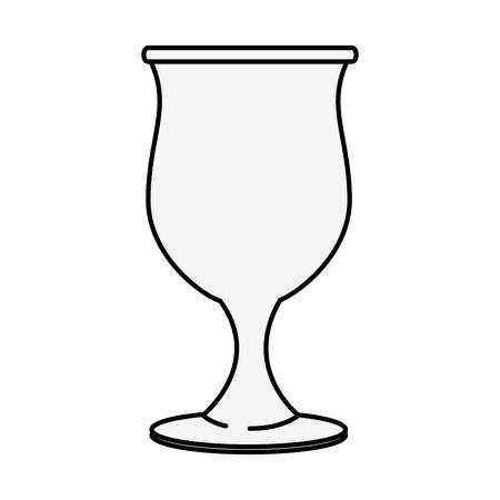 koffie drinken pictogram over witte achtergrond vectorillustratie