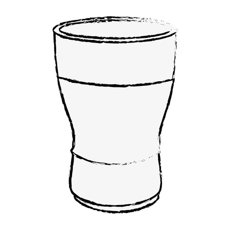 Coffee drink icon over white background vector illustration 向量圖像
