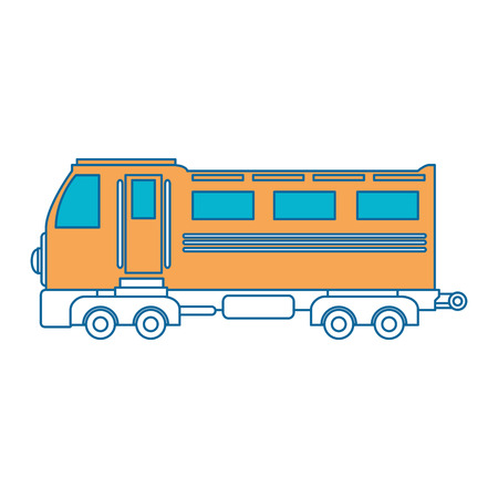 train icon over white background vector illustration Stock Vector - 84230903
