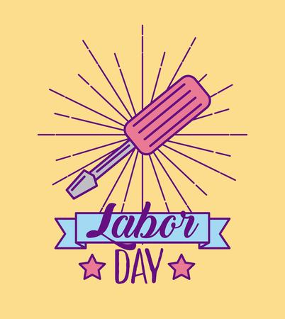 labor day job icon vector illustration design graphic