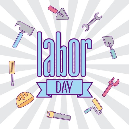 labor day job icon vector illustration design graphic
