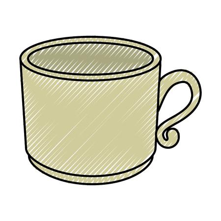 Delicious coffee mug Vector ilustration Icon symbols Illustration