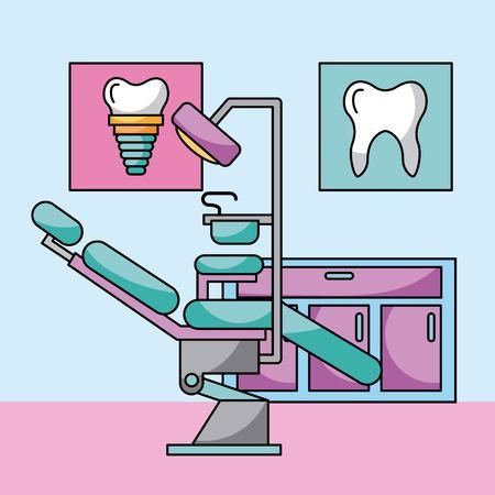 액세서리 치과 의사 직업 아이콘 벡터 일러스트 디자인 그래픽 일러스트