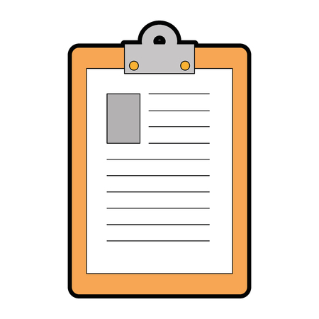 report table icon over white background vector illustration