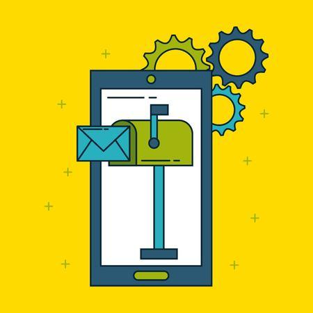 digital marketing images icon vector illustration design graphic