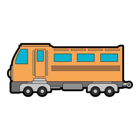 train icon over white background vector illustration Stock Vector - 84527418