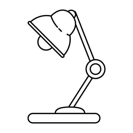 Light lamp isolated icon vector illustration graphic design Illustration