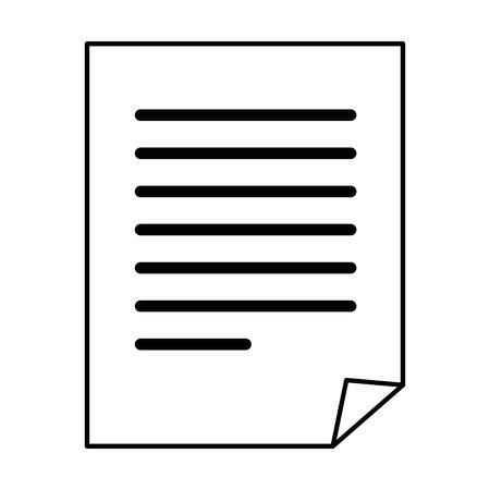 紙シートのシンボル アイコン ベクトル イラスト グラフィック デザイン  イラスト・ベクター素材