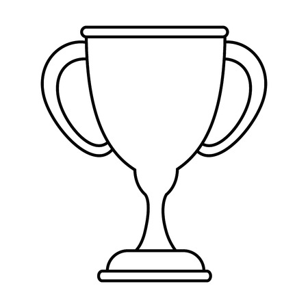 Trophy cup symbol icon vector illustration graphic design Çizim