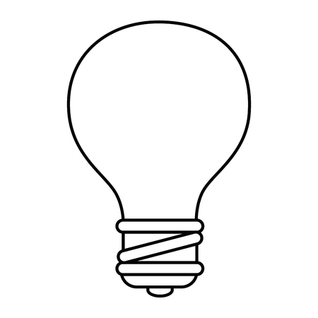 bulb light energy icon vector illustration graphic design Иллюстрация