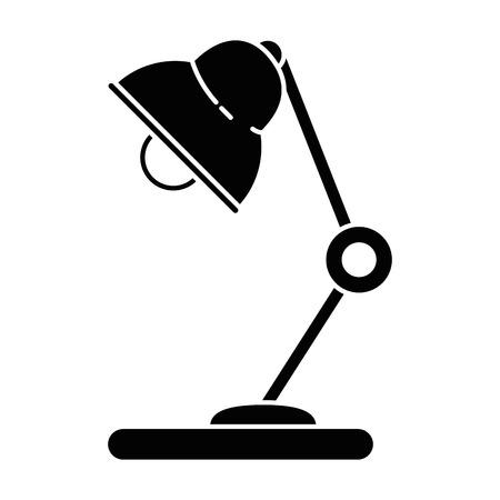 빛 램프 절연 아이콘 벡터 일러스트 그래픽 디자인 일러스트