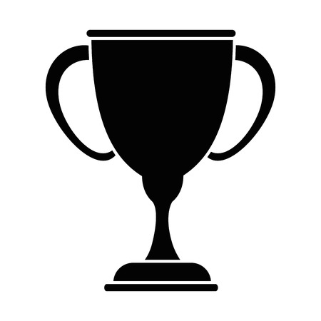 Trophy cup symbol icon vector illustration graphic design Illustration