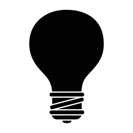bulb light energy icon vector illustration graphic design Ilustração