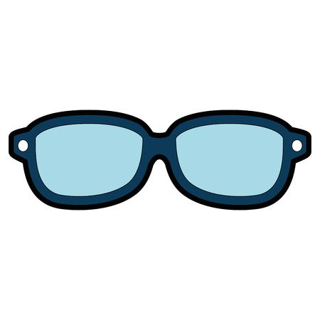 안경 광학 렌즈 아이콘 벡터 일러스트 그래픽 디자인