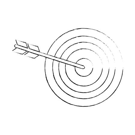 대상 다트 판이 기호 아이콘 벡터 일러스트 그래픽 디자인