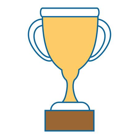 Trophy cup symbol icon vector illustration graphic design Illusztráció