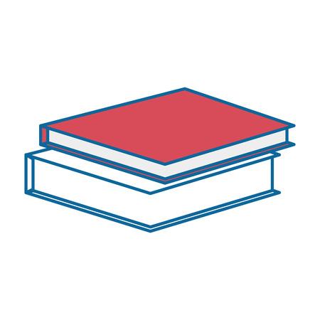책 아이콘 벡터 일러스트 그래픽 디자인 쌓여 스톡 콘텐츠 - 84530491