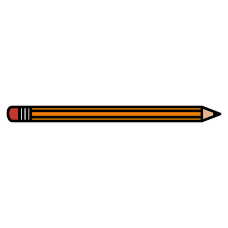 pencil write isolated icon vector illustration design Illusztráció