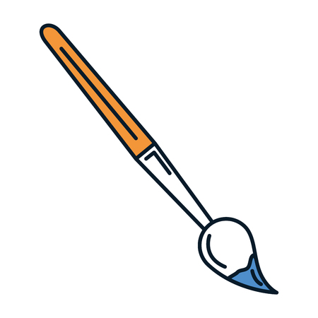 paint brush school supply vector illustration design Stok Fotoğraf - 84559277