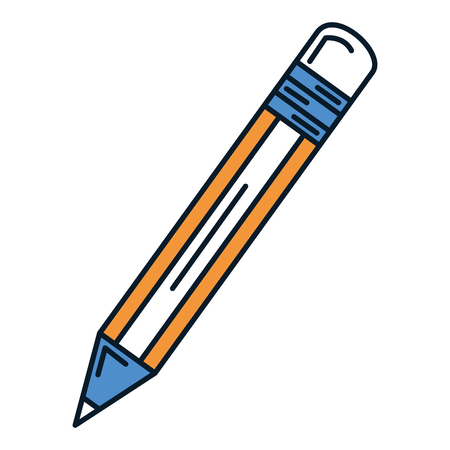 pencil write isolated icon vector illustration design Illustration