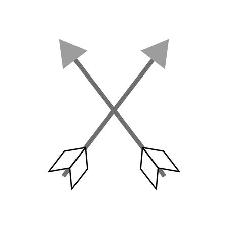 indian arrow isolated icon vector illustration design Ilustracja