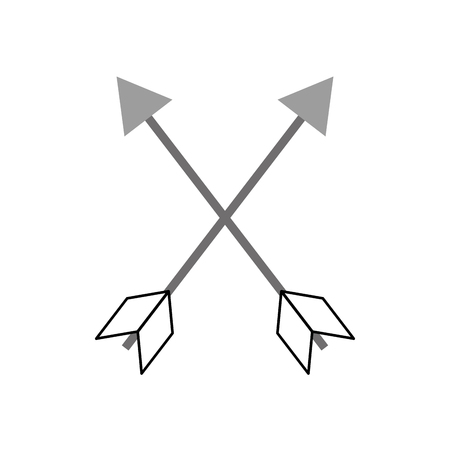 indian arrow isolated icon vector illustration design Illustration