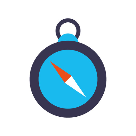 navigator: Compass guide isolated icon vector illustration design