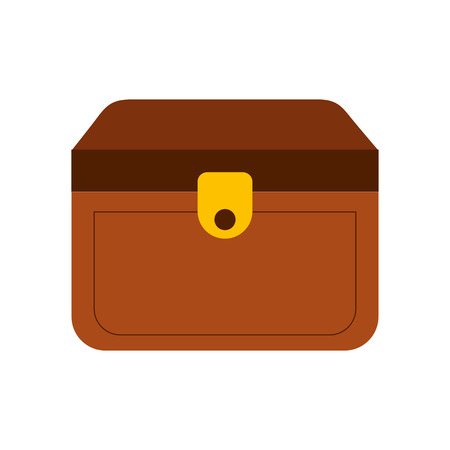 Wooden trunk isolated icon vector illustration design Illustration