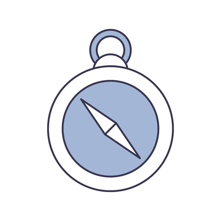 Compass guide isolated icon vector illustration design