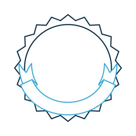 Sello con diseño de ilustración del icono de la cinta. Foto de archivo - 84595540