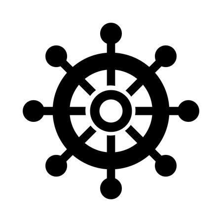 보트 timon 격리 아이콘 그림 디자인입니다.