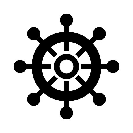 Boat timon isolated icon illustration design.