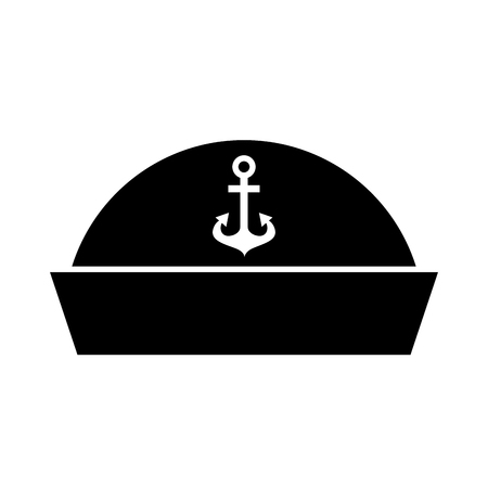 Sailor hat isolated icon illustration design