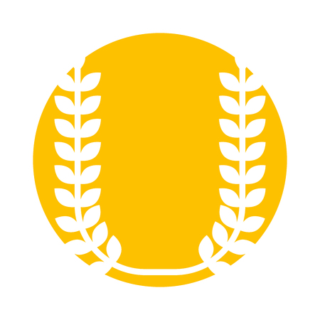 wreath leaf isolated icon vector illustration design 版權商用圖片 - 84616105