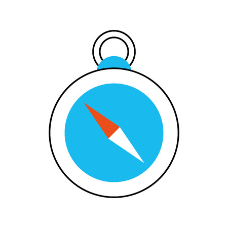 compass guide isolated icon vector illustration design Иллюстрация