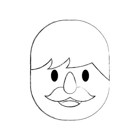 man avatar character icon vector illustration design Stok Fotoğraf - 84591638