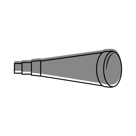 telescope device isolated icon vector illustration design Stock fotó - 84591193