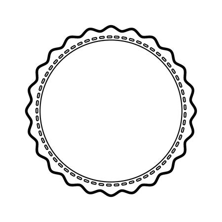 stamp seal isolated icon vector illustration design Ilustração