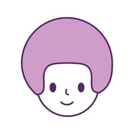 man avatar character icon vector illustration design Illusztráció
