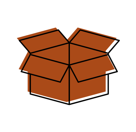 box carton isolated icon vector illustration design 版權商用圖片 - 84593373