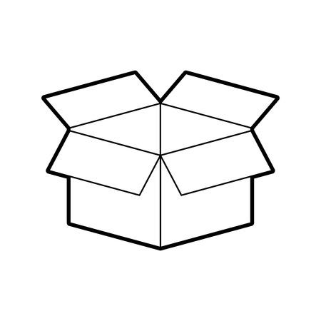 box carton isolated icon vector illustration design 版權商用圖片 - 84593495