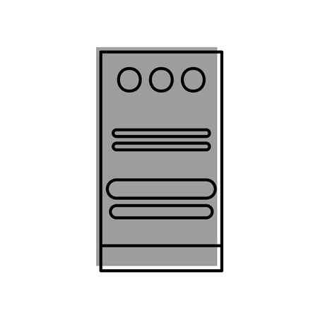 Server-Datencenter-Symbol Vektor-Illustration, Design, Standard-Bild - 84593510