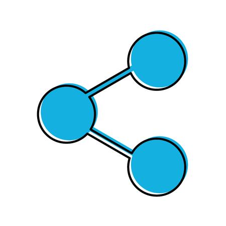 share symbol isolated icon vector illustration design