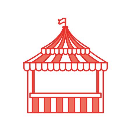 ticket shop carnival icon vector illustration design Иллюстрация