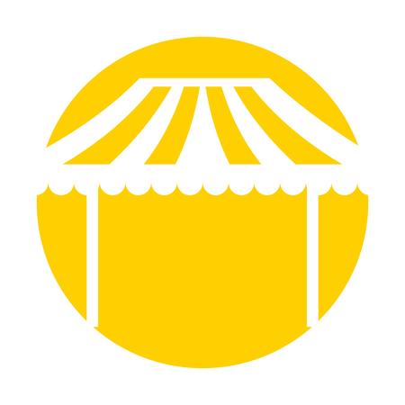 カーニバル ファーストフード カート ベクトル イラスト デザイン