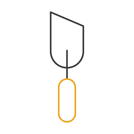 spatula tool isolated icon vector illustration design Ilustração