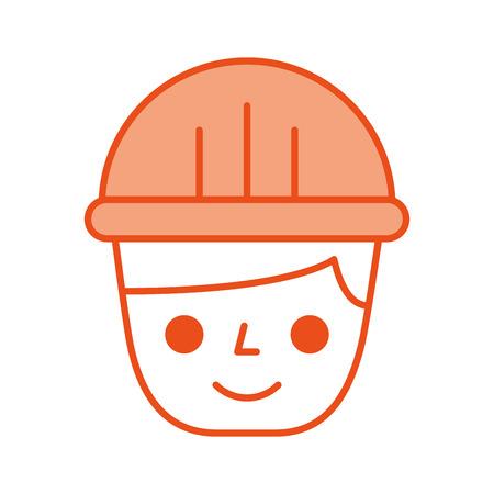 Constructor constructor avatar carácter vector ilustración diseño Foto de archivo - 84596722