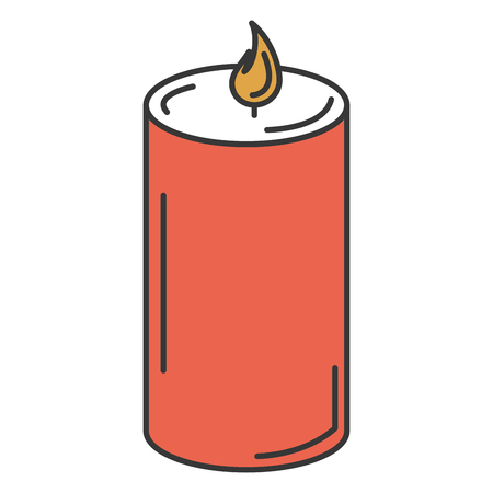 candle spa isolated icon vector illustration design Zdjęcie Seryjne - 84596781